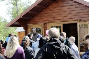Besök av Bokelundskolan från Sölvesborg