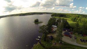 Kort film från Ivösjön vid Wetlandi